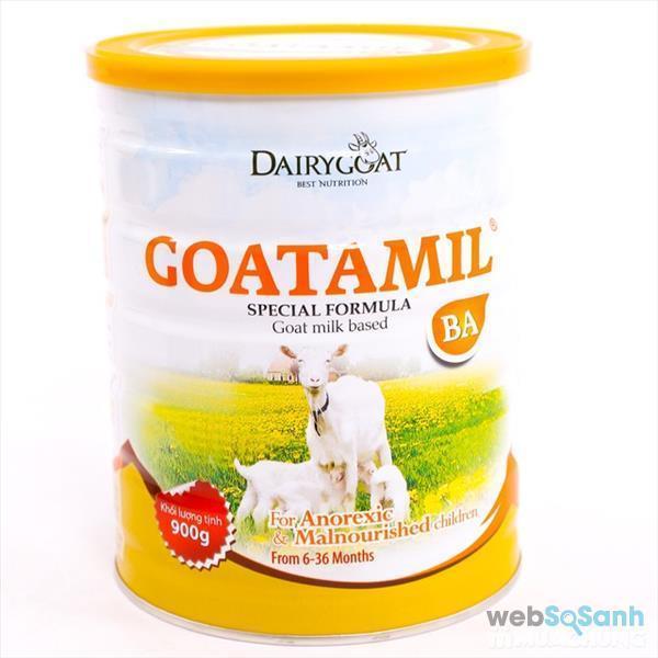 Top 5 sữa bột từ sữa dê giàu dinh dưỡng tốt cho bé yêu của bạn