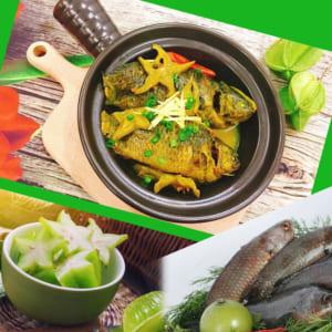 Đậm chất quê hương với món cá rô đồng kho khế ngon khó tả