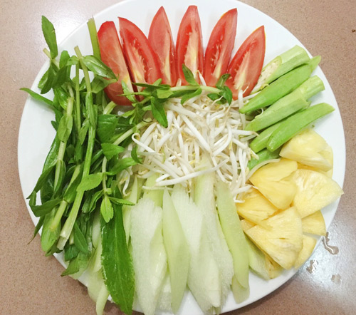 3 bước đơn giản có ngay món Cá trê nấu canh chua thơm ngon nóng hổi4