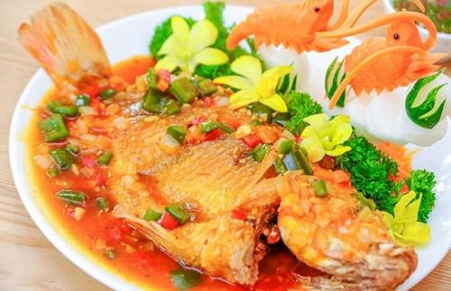 Ngon cơm cho cả nhà khi thưởng thức món cá diêu hồng sốt cà chua3